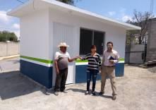 SOPOT entrega cuartos dormitorios en Epazoyucan 1