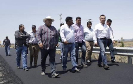 SOPOT realiza obras de reconstrucción vial en Tulancingo1