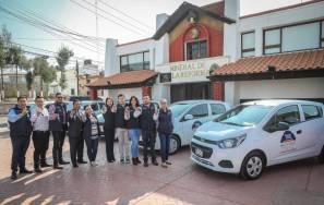 Suma el gobierno municipal de Mineral de la Reforma, 10 nuevos vehículos oficiales 1