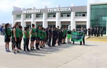 UTec realiza Ceremonia de Abanderamiento a los estudiantes que participarán en Encuentro Deportivo y Cultural de Universidades Tecnológicas 2