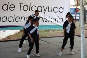 Academia de baile de Tolcayuca se presentó en la capital hidalguense