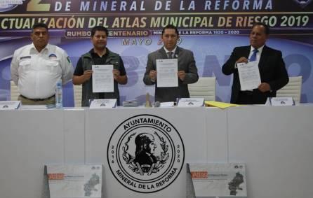 Actualiza Mineral de la Reforma Atlas Municipal de Riesgo 2019-4