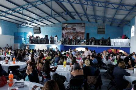 Alcalde de Tizayuca celebra a más de mil 500 maestros en su día4