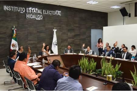 Aprueban financiamiento para el Partido Político Local Encuentro Social Hidalgo para el periodo mayo-diciembre de 2019