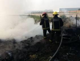 Atienden servicios de emergencias incendio en Mineral de la Reforma1