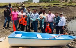 Ayuntamiento de Tolcayuca recibe proyecto productivo de pesca y acuícola 1