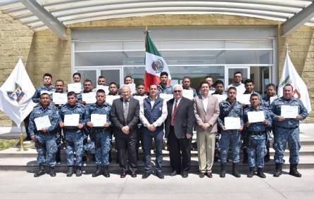 Capacita Embajada de Estados Unidos a policías estatales de Hidalgo4