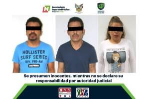 Con labor de inteligencia, C5i y Policía Estatal aseguran a tres por presunto robo de vehículos