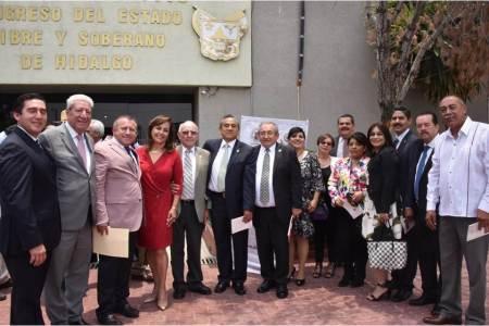 Congreso de Hidalgo albergará medalla conmemorativa por el primer centenario del Poder Legislativo local