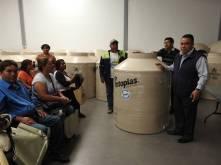 Desarrollo Social de Tolcayuca, realiza la segunda entrega del programa de tinacos y cisternas2