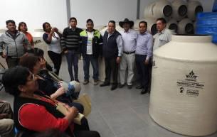 Desarrollo Social de Tolcayuca, realiza la segunda entrega del programa de tinacos y cisternas4
