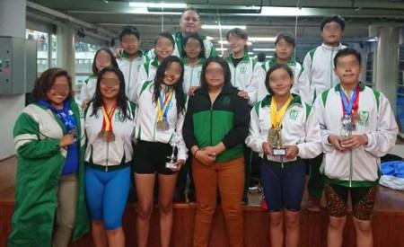 El equipo de natación infantil y juvenil del IMSS Hidalgo obtiene primeros lugares en competencia nacional