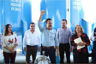 En marcha, planta potabilizadora de agua en Progreso3