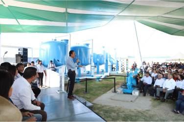 En marcha, planta potabilizadora de agua en Progreso4