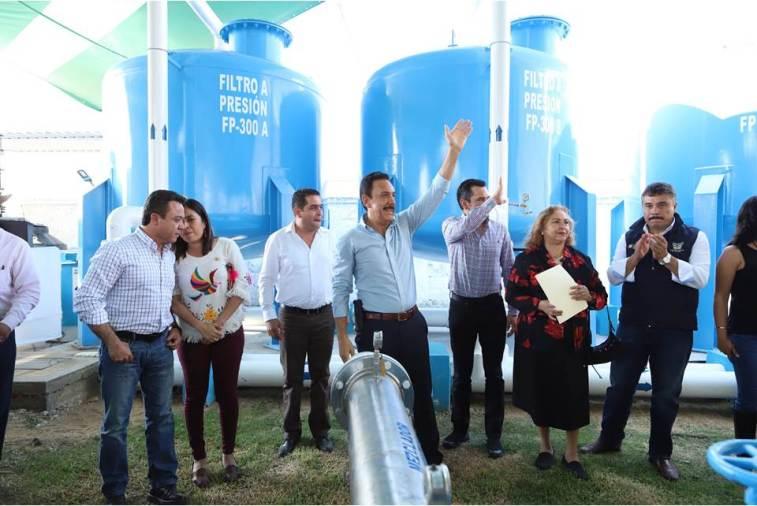 En marcha, planta potabilizadora de agua en Progreso6
