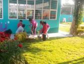 Escuelas de Hidalgo se suman a Jornada Nacional de Limpieza y reforestación de espacios3