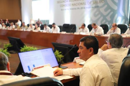 Exponen ante integrantes del Consejo Nacional de Salud las acciones que se realizan en Hidalgo en este sector