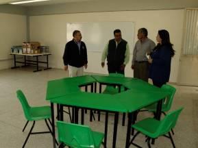 Gabriel García Rojas equipa al CONALEP Plantel Tizayuca2