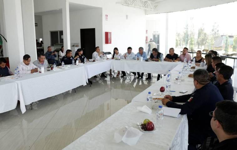 Gabriel García Rojas reconoce el trabajo interinstitucional de los tres órdenes en materia de Seguridad Pública1