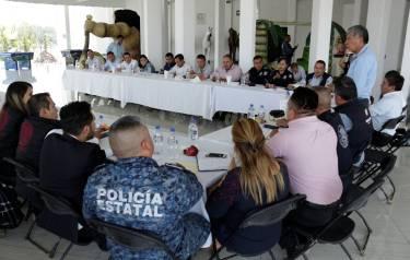 Gabriel García Rojas reconoce el trabajo interinstitucional de los tres órdenes en materia de Seguridad Pública2