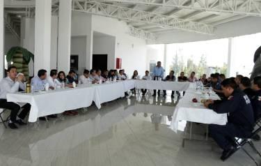 Gabriel García Rojas reconoce el trabajo interinstitucional de los tres órdenes en materia de Seguridad Pública3