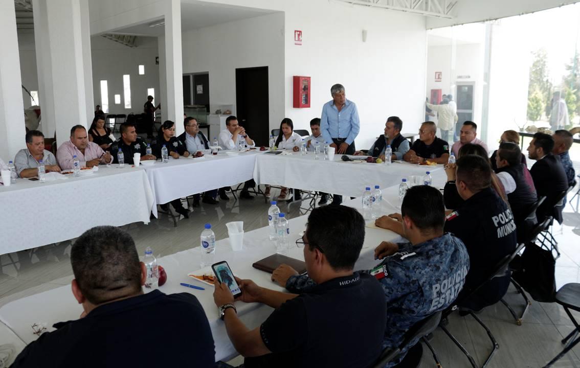 Gabriel García Rojas reconoce el trabajo interinstitucional de los tres órdenes en materia de Seguridad Pública4