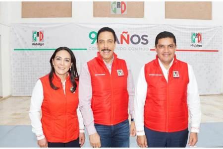 Hidalgo cuenta con un gobernador de resultados, Erika Rodríguez