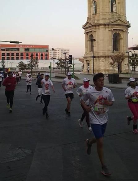 Hidalgo sede foránea con mayor participación en la carrera IPN ONCE K 2019-7
