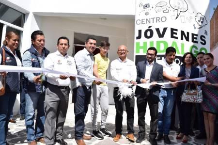 """IHJ inaugura primer """"Centro Jóvenes Hidalgo"""" en el municipio de Zempoala2.jpg"""