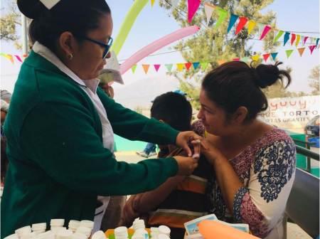 IMSS Hidalgo invita a la población a llevar a sus hijos a vacunar