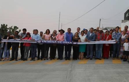 Inaugura Mineral de la Reforma pavimentación de concreto en Pachuquilla y Portezuelo 4