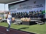 Inaugura titular de SEPH Encuentro Deportivo y Cultural Estatal de Educación Media Superior 1