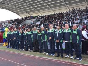 Inaugura titular de SEPH Encuentro Deportivo y Cultural Estatal de Educación Media Superior 2