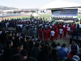 Inaugura titular de SEPH Encuentro Deportivo y Cultural Estatal de Educación Media Superior 3