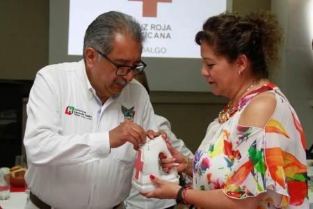 Inicia voluntariado de SEPH Colecta 2019 para la Cruz Roja en la región Huasteca
