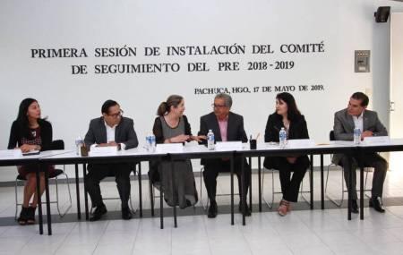 Instalan Comité de Seguimiento del Programa de la Reforma Educativa para el ciclo 2018 - 2019-2