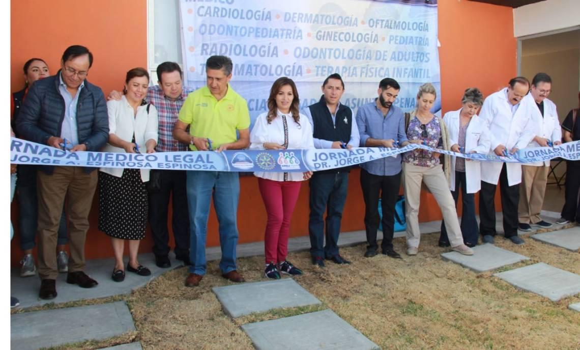 Mineral de la Reforma y Club Rotario llevan jornada médico-legal a San Luis II-2