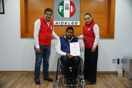 Moisés Pelcastre Hernández, nuevo  titular de la Secretaría de Atención a Personas con Discapacidad del PRI.jpg
