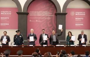 Municipio de Tizayuca participa en la firma del acuerdo de Ordenamiento Territorial entorno a Santa Lucía4