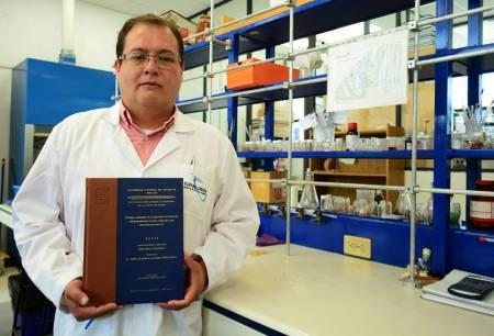 Obtiene alumno de UAEH premio nacional a mejor tesis de maestría en Química Inorgánica