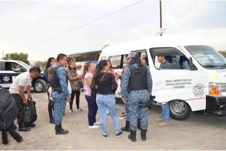Para prevenir delitos implementan en Tizayuca operativos coordinados de seguridad pública2