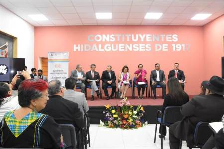 Problemas, retos y obstáculos, temas del foro Sistema Anticorrupción y Agenda 2030 celebrado en Congreso local.jpg