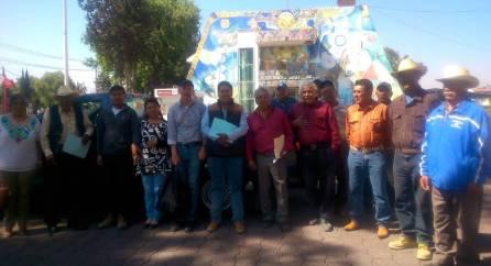 Productores agrícolas de Tizayuca reciben apoyo de semilla certificada1