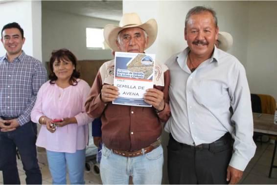 Realiza Mineral de la Reforma 2da. entrega de incentivo de semilla de avena y cebada a pequeños productores5