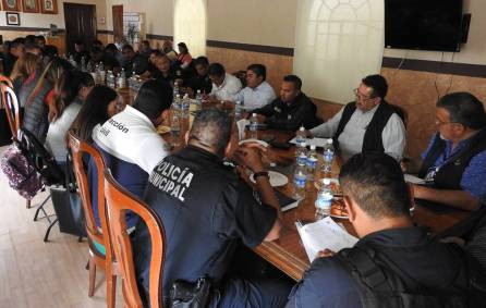 Realizan décimo novena reunión interinstitucional en materia de seguridad pública1