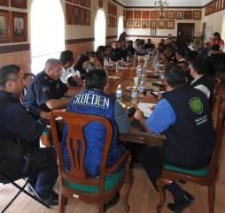 Realizan décimo novena reunión interinstitucional en materia de seguridad pública4