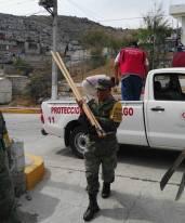 realizan labores de mitigación en Barrio la Camelia6