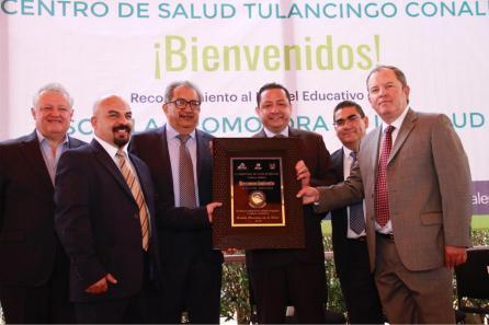 Recibe Conalep Tulancingo reconocimiento como promotor de salud2