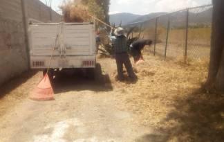 Servicios Municipales de Tolcayuca brinda mantenimiento para prevenir inundaciones1