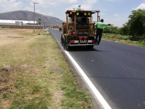 SOPOT realiza mantenimiento de vialidades en diferentes regiones del estado 3